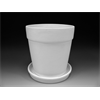 HOME DÉCOR XL Flower Pot w/Tray/1 SPO