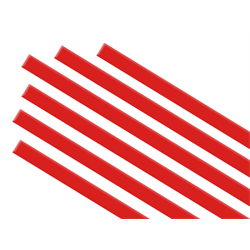 Cherry Red Transparent Strips/1 SPO