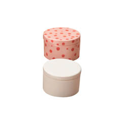 BOXES SM. PLAIN ROUND BOX/12 SPO