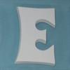 TILES, ETC. GROOVY LETTER E/1 SPO