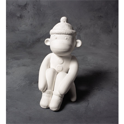 Sock Monkey Bank (Casting Mold - Set of 2) SPO