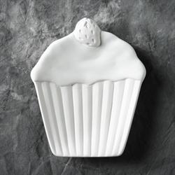 PLATES Strawberry Cupcake Plate/6 SPO
