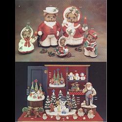 "Christmas Bear Sewing Kit, 6"" T"