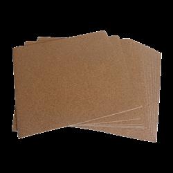 "Self-Adhesive Cork Backing - 8"" Square/12 SPO"