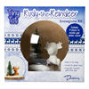 SEASONAL Reindeer Snowglobe Kit/4 SPO
