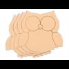 Owl Plaque - Sm/4 SPO