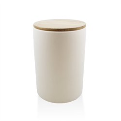 KITCHEN Bamboo Lid Canister/6 SPO