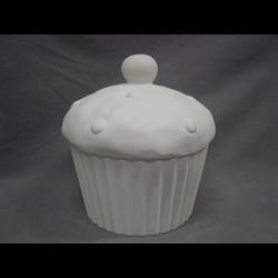 BOXES CUPCAKE COOKIE JAR/4 SPO