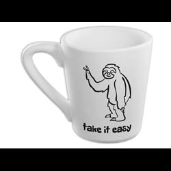 MUGS Take it Easy Sloth Mug/4 SPO