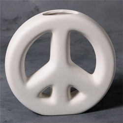 Peace Sign Vase (Casting Mold) SPO