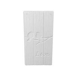 TILES, ETC. Lovebirds Tile Plaque/8 SPO