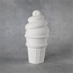 BANKS XL Ice Cream Cone Bank/6 SPO