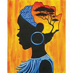 Pattern Pack - African Woman/1 SPO