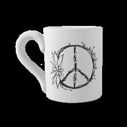 MUGS Vintage Peace Mug/6 SPO