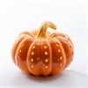 HOME DÉCOR SQUATTY PUMPKIN LIGHT UP/4 SPO