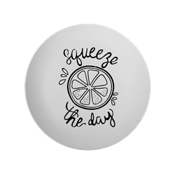 PLATES Squeeze the Day Plate/6 SPO