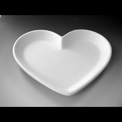 PLATES Medium Heart Dish/6 SPO
