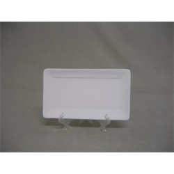 "PLATES Small Rectangular Plate-8""L/8 SPO"