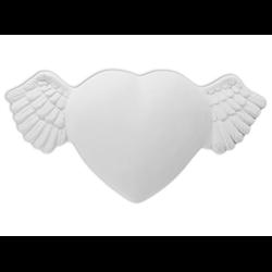 TILES, ETC. Winged Heart Plaque/8 SPO