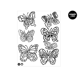Butterflies Silkscreen/1 SPO