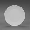 PLATES POTTERY SALAD PLATE/6 SPO