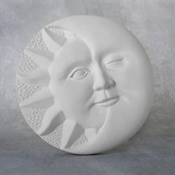 TILES, ETC. Sun/Moon Plaque/6 SPO