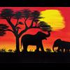 Pattern Pack - African Sunset I /1 SPO