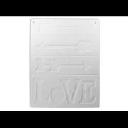 TILES, ETC. Love Tile Plaque/6 SPO