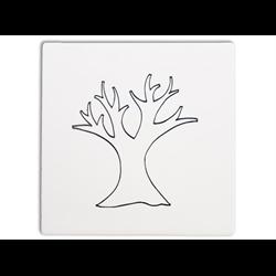 """TILES & PLAQUES Tree Party Tile 6""""/12 SPO"""