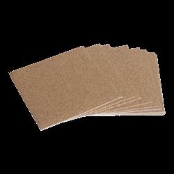 "Self-Adhesive Cork Backing - 3.5"" Square/12 SPO"