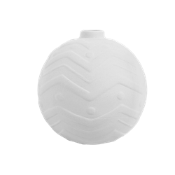 SEASONAL Chevron Ball Ornament/8 SPO