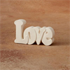 HOME DÉCOR LOVE - SMALL WORD PLAQUE/8 SPO