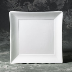 PLATES Square Dinner Plate/12