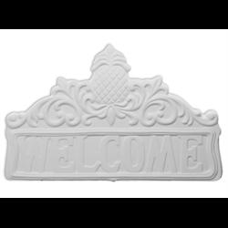 TILES, ETC. Welcome Pineapple Tile Plaque/4 SPO