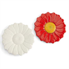 "PLATES 8"" Flower Plate/6 SPO"