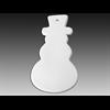 SEASONAL Flat Snowman Ornament/12 SPO