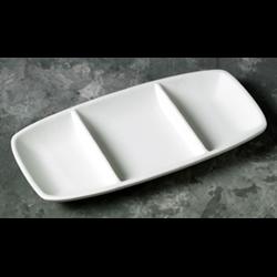 PLATES Geometrix Divided Dish/6