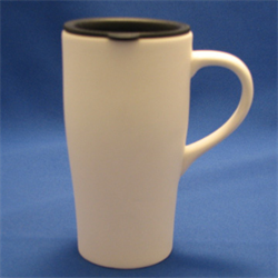 MUGS TRAVEL MUG PLAIN w/LID/6
