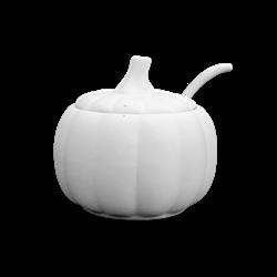 KITCHEN Pumpkin Sugar Pot w/ Spoon/4 SPO