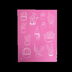 Succulent Lovers Silkscreen/1 SPO