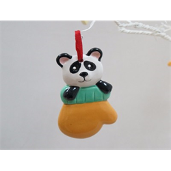 SEASONAL Bear Ornament/12 SPO