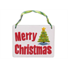 TILES, ETC. Merry Christmas Plaque/6 SPO