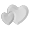 KITCHEN Double Heart Dish/6 SPO
