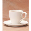 MUGS TAPERED TEA CUP & SAUCER /8 SPO