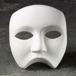 HOME DÉCOR Three Quarter Mask/6 SPO