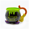 MUGS WITCHES BREW MUG/4 SPO