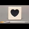 HOME DÉCOR SM HEART FRAME + EASEL/12 SPO