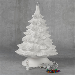 "SEASONAL 17"" Christmas Tree w/ Base/1 SPO"