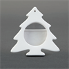 SEASONAL CHRISTMAS TREE FRAME ORNAMENT /12 SPO