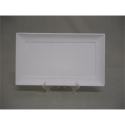 "PLATES Medium Rectangular Plate-11""L/6 SPO"